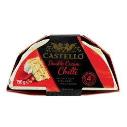 Castello Double Cream Chilli 6x150g