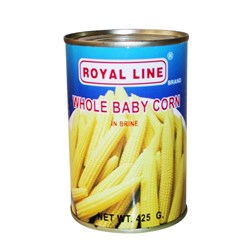 Royal Line Corn Baby Spears 24x425ml
