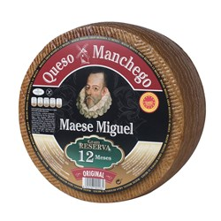 Maese Miguel Manchego 12 Months 2x3200g
