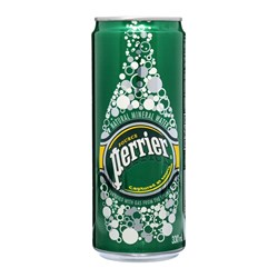 Perrier Natural Slim Can 24x330ml