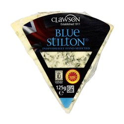 Long Clawson Stilton Blue 6x125g