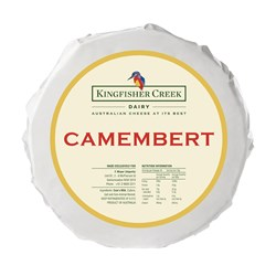 Kingfisher Creek Camembert 2x1.2kg