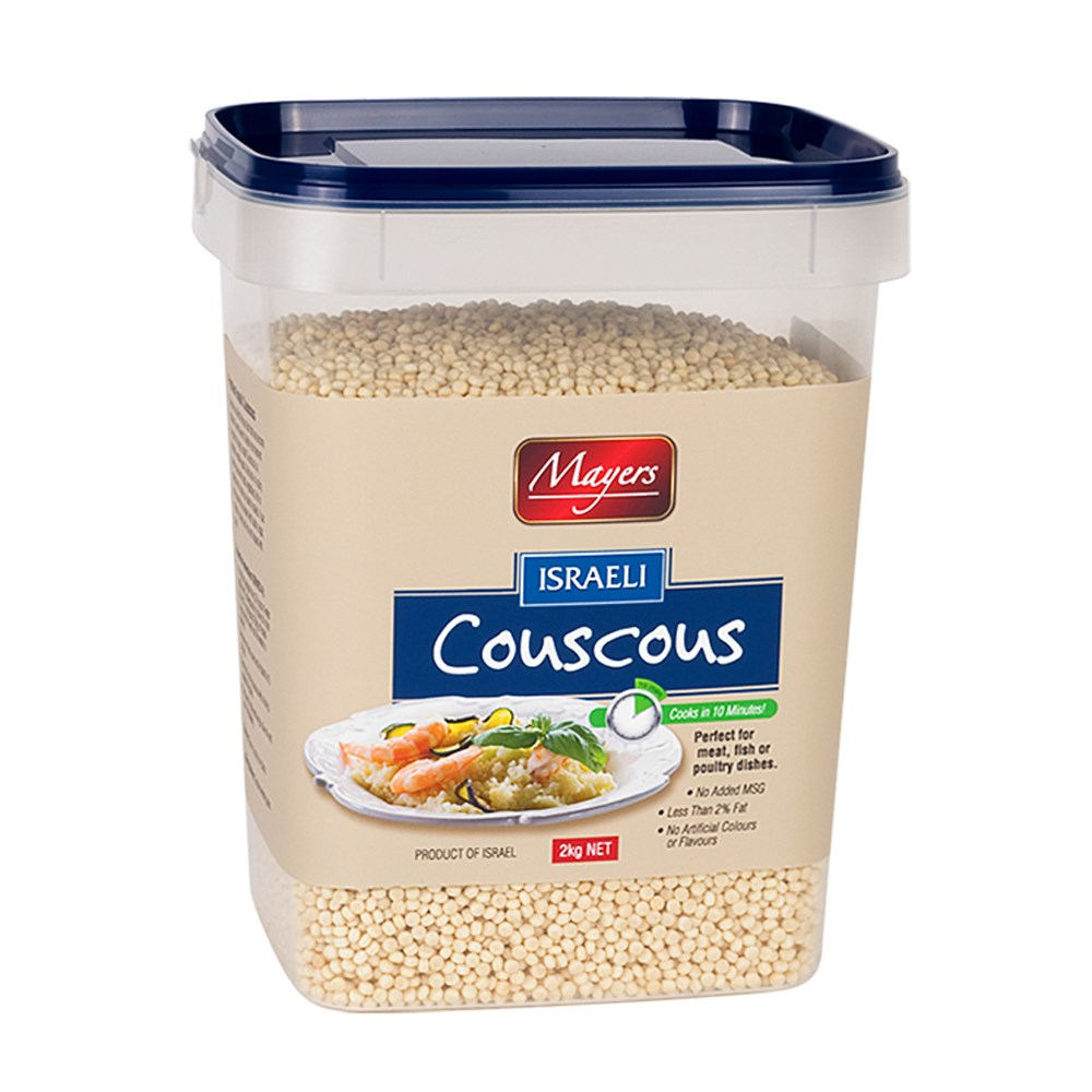 Mayers Israeli Couscous Pearl 8x2kg Mayers Fine Food
