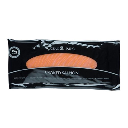 Ocean King Smoked Salmon 24x500g
